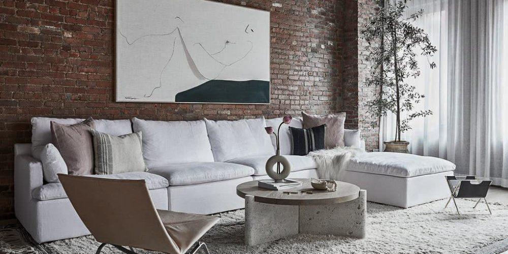 New York Loft Tina Rich Abitare Interior Design Architecture Blog